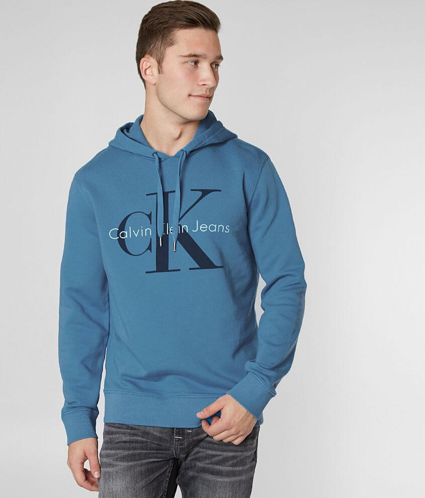 Calvin Klein Pop Color Hooded Sweatshirt front view