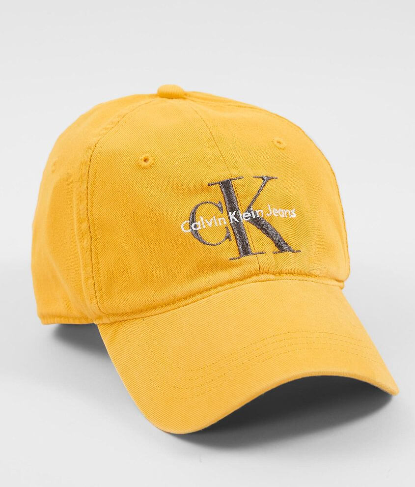 ec1e40194 Calvin Klein Color Pop Baseball Hat - Women's Hats in Spectra Yellow ...