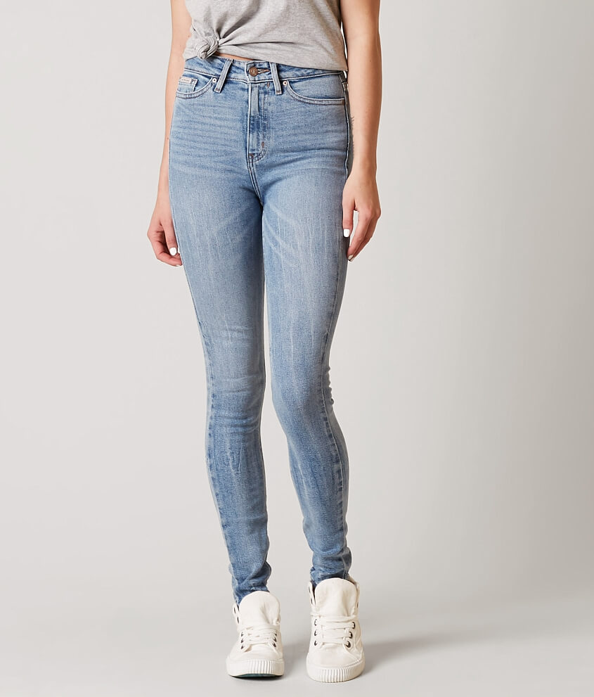 Haute En Jean Évasé Taille Haute - Calvin Bleu Jean Klein b4y0CgOTU