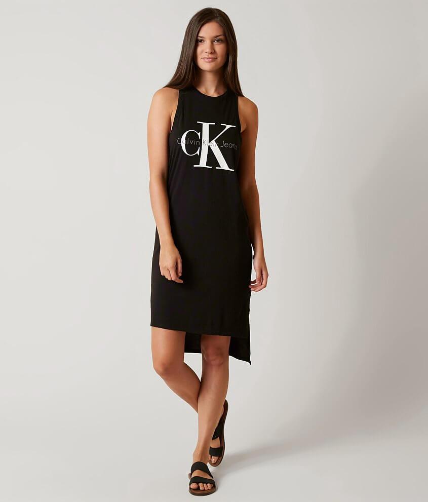 Reliable Amazing Price Online Logo Tank Dress Calvin Klein EzaIPH