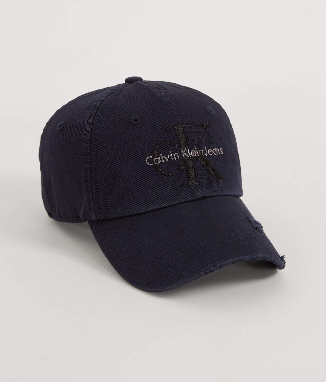 Calvin Klein Destructed Baseball Hat - Women s Hats in Dark Indigo ... c9d016ef6b5