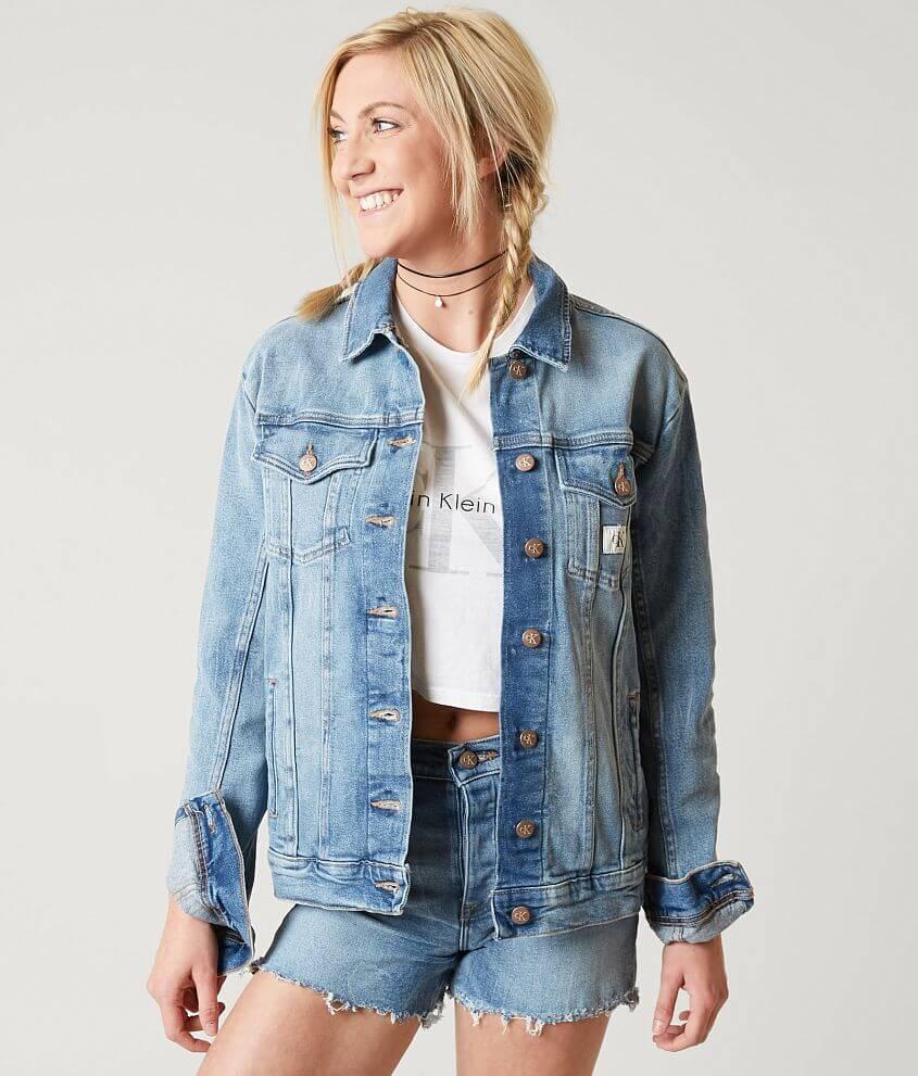 cbc1fb02a742 Calvin Klein Trucker Jacket - Women's Coats/Jackets in Joy Ride | Buckle
