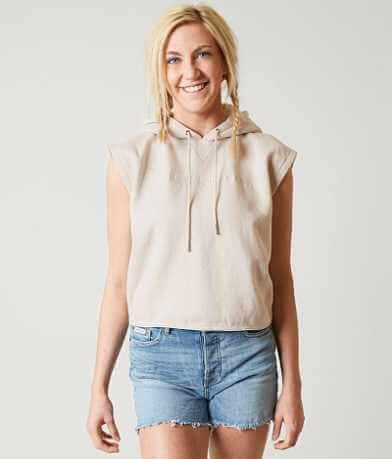 Calvin Klein Jeans Sleeveless Cropped Sweatshirt