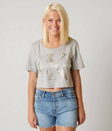 Calvin Klein Cropped Reissue T-Shirt