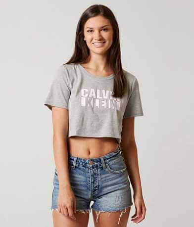 Calvin Klein Jeans Pop Cropped T-Shirt