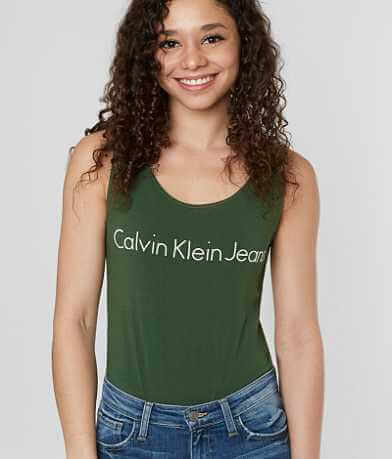 Calvin Klein Jeans Logo Bodysuit