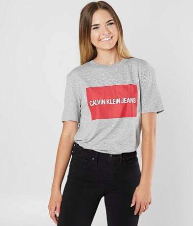 Calvin Klein Color Block Logo T-Shirt