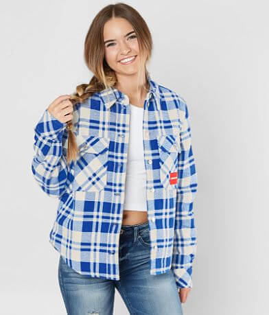 Calvin Klein Plaid Flannel Jacket