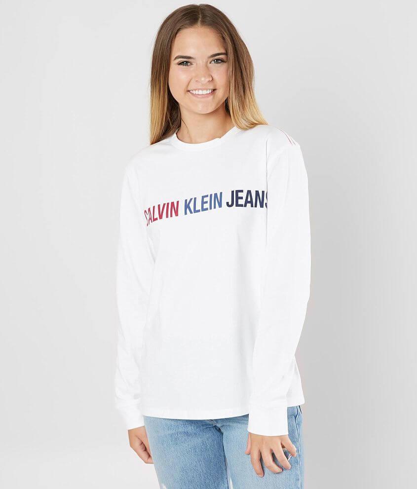 Calvin Klein Logo T-Shirt front view