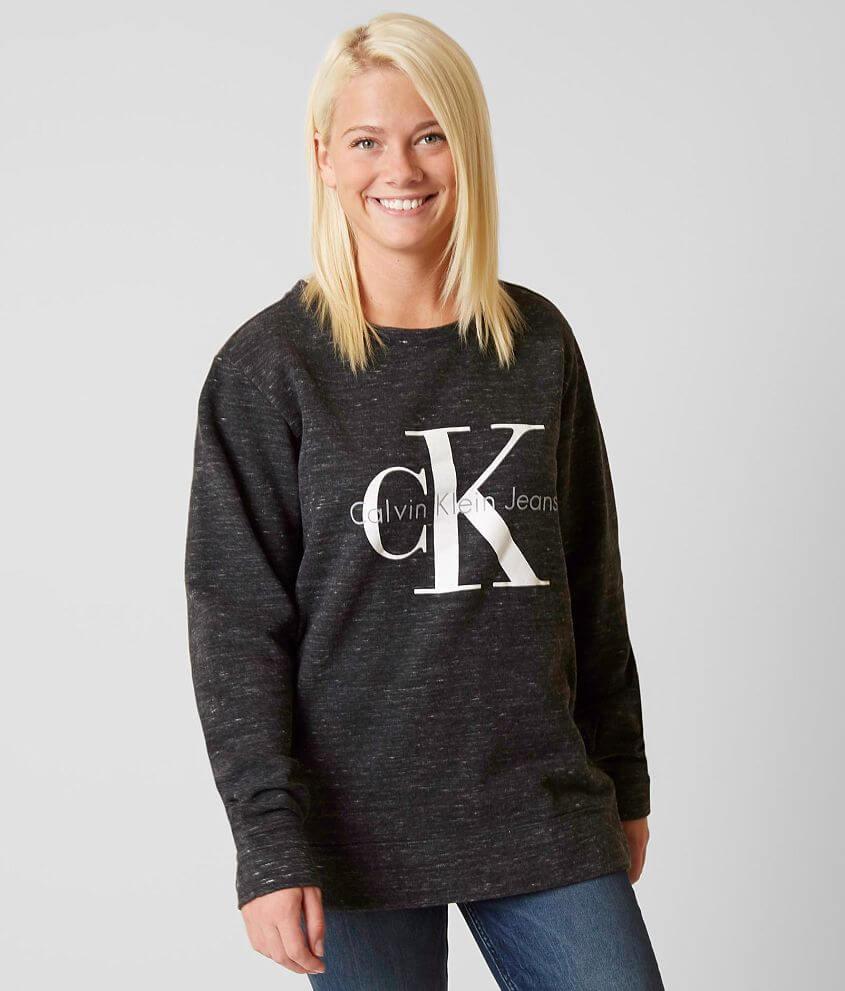 Calvin Klein Logo Sweatshirt front view