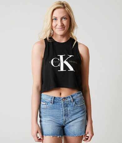 Calvin Klein Jeans CK Cropped Tank Top