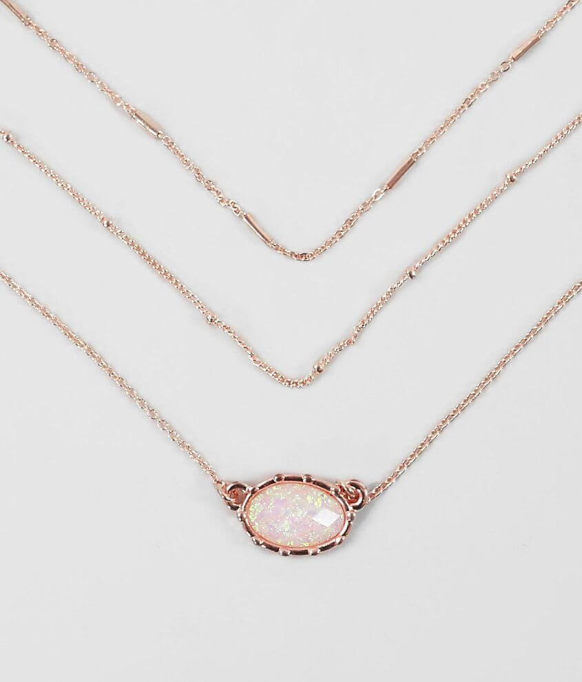 BKE Dainty 2 Pack Necklace Set front view