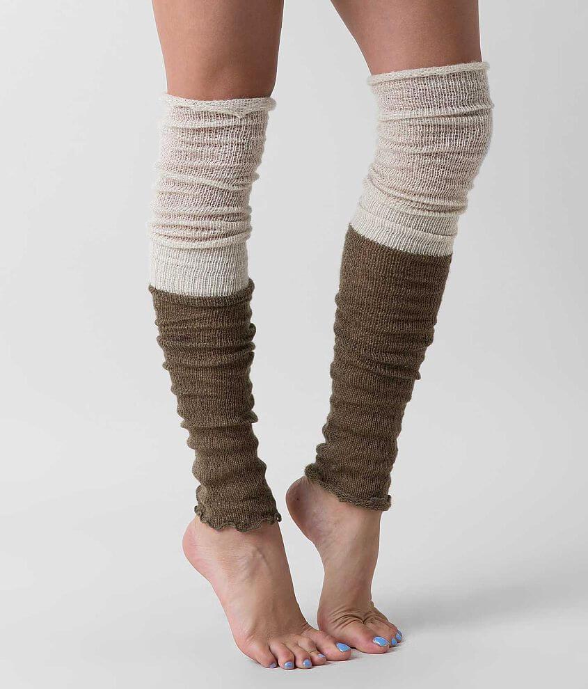 Style LWL1393/Sku 929295 Open weave legwarmer One size fits most