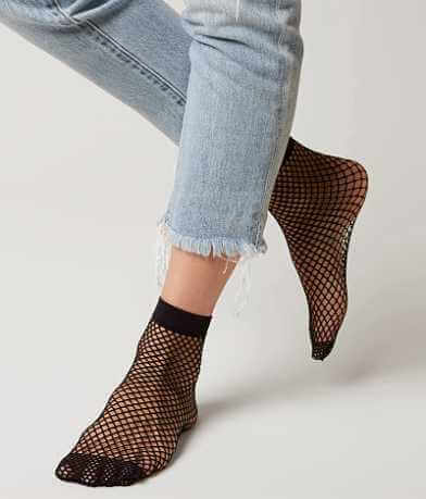 Capelli of New York Fishnet Socks