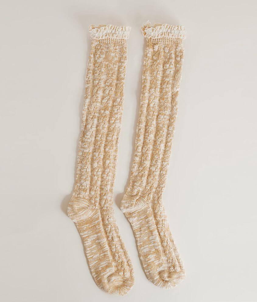 Style SXL29072/Sku 937965 Marled knee high socks One size fits most