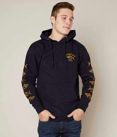 Captain Fin Fish Market Hoodie