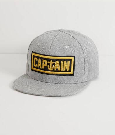 Captain Fin Naval Captain Hat