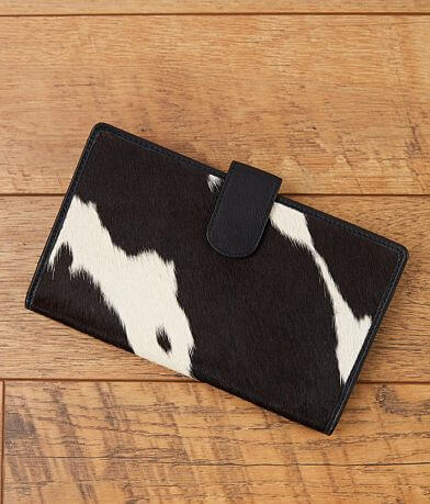 STS Cowhide Leather Clutch Wallet