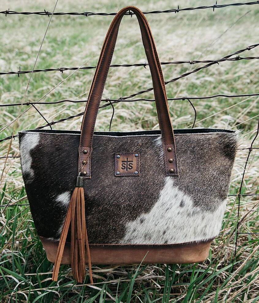 STS Classic Fur Purse front view
