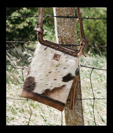 STS Classic Cowhide Crossbody Purse