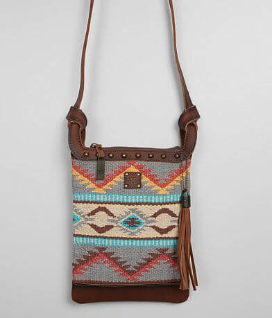 STS Sedona Classic Serape Leather Crossbody Purse