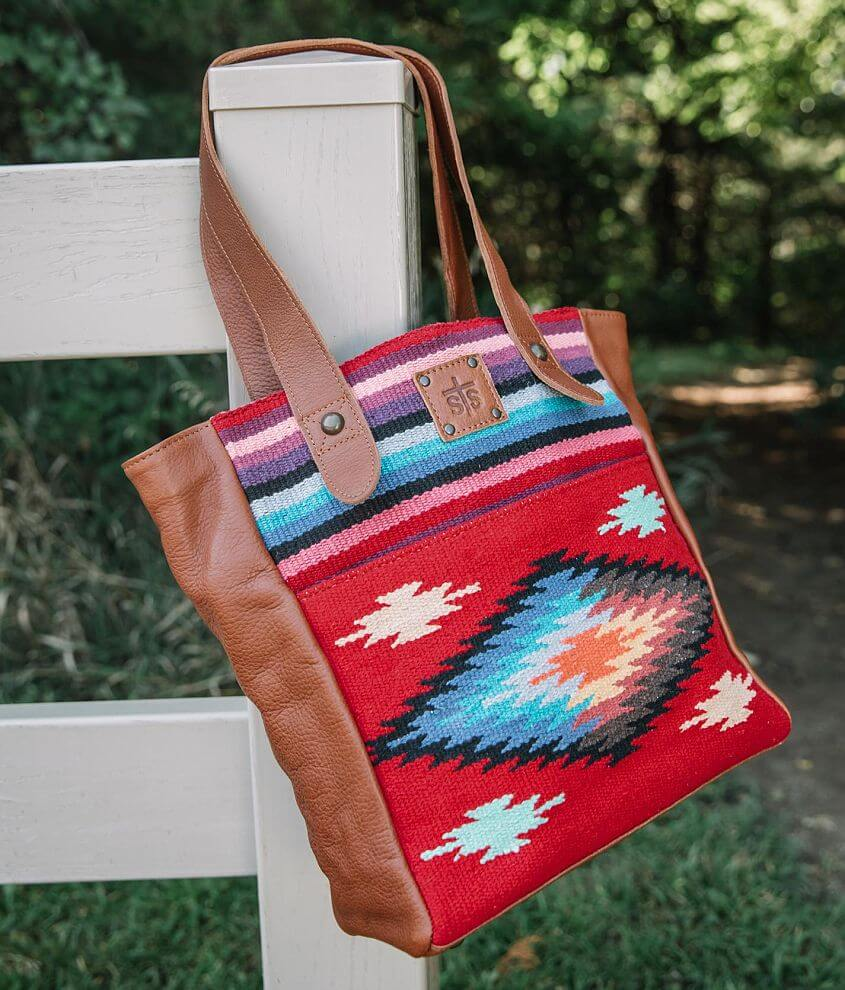 STS Fiesta Tote Purse front view