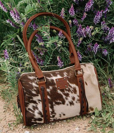 STS Cowhide Satchel Purse