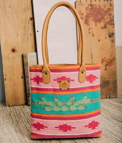 STS Cactus Serape Leather Purse