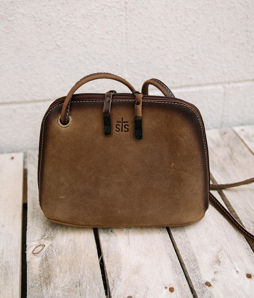 STS Baroness Leather Crossbody Purse front view
