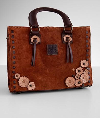 STS Sheridan Flower Leather Purse