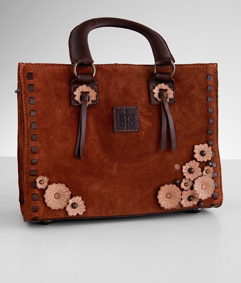 STS Sheridan Flower Leather Purse front view