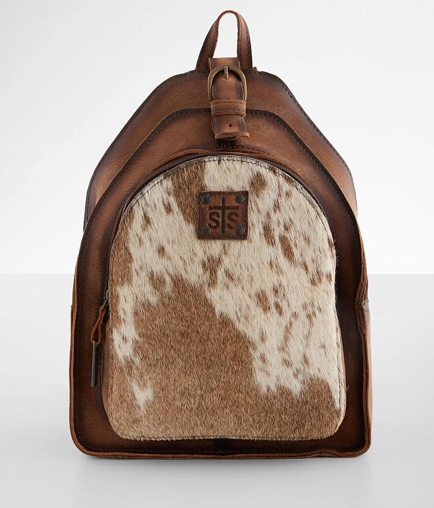 STS Cowhide Baroness Backpack front view
