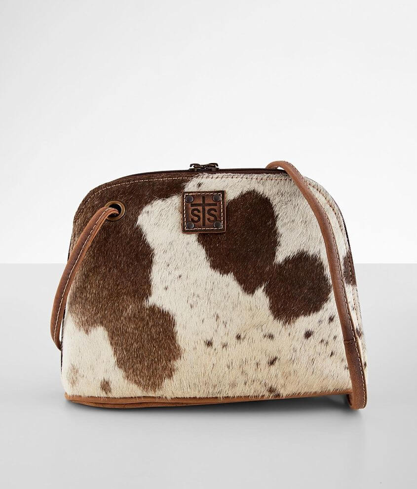 STS Cowhide Crossbody Purse front view