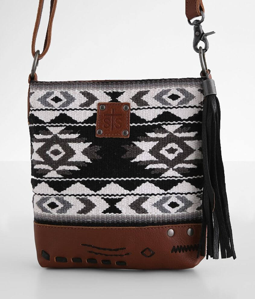 STS Cholula Leather Crossbody Purse front view