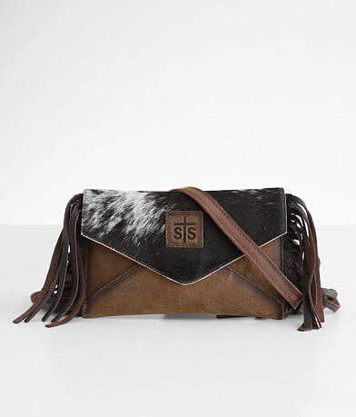 STS Envelope Crossbody Leather Purse