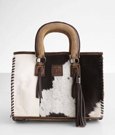 STS Chaps Satchel Leather Purse