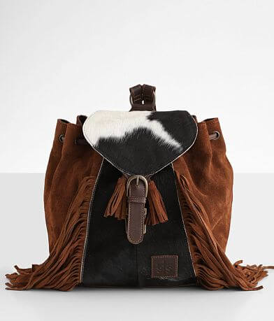 STS Sheridan Fringe Leather Backpack