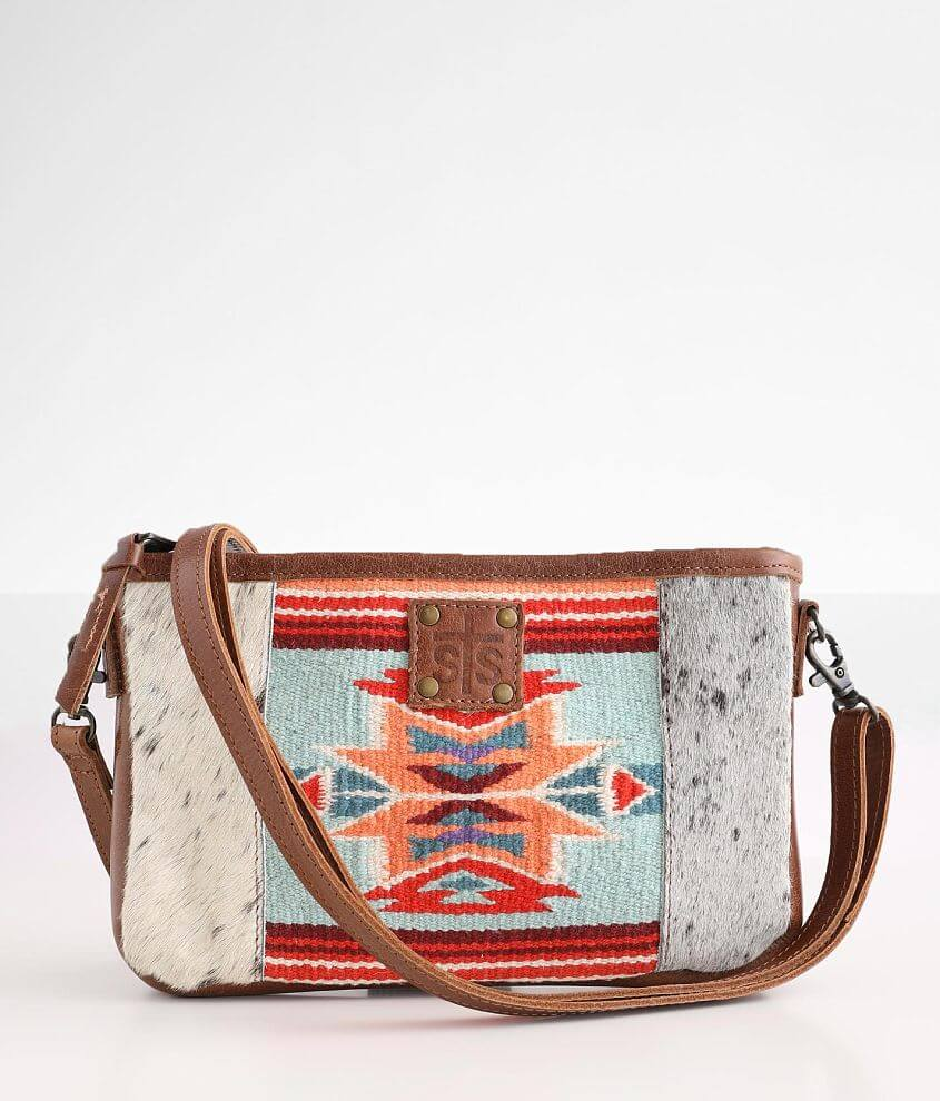STS Phoenix Claire Crossbody Leather Purse front view