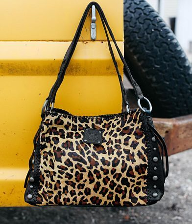 STS Leopard Maggie Mae Leather Purse