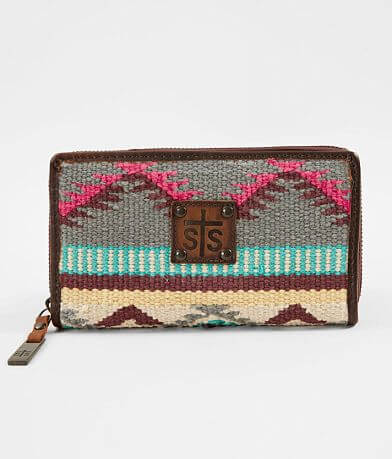 STS Sedona Serape Leather Wallet