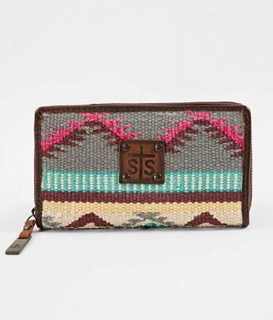 STS Sedona Serape Leather Wallet