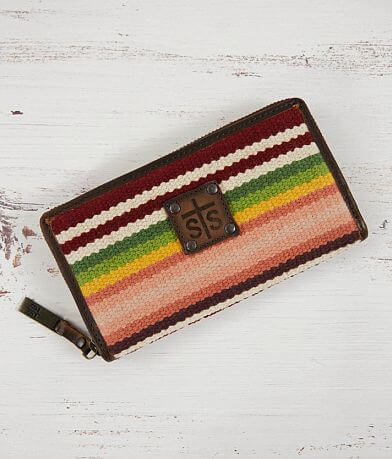 STS Buffalo Girl Leather Serape Wallet