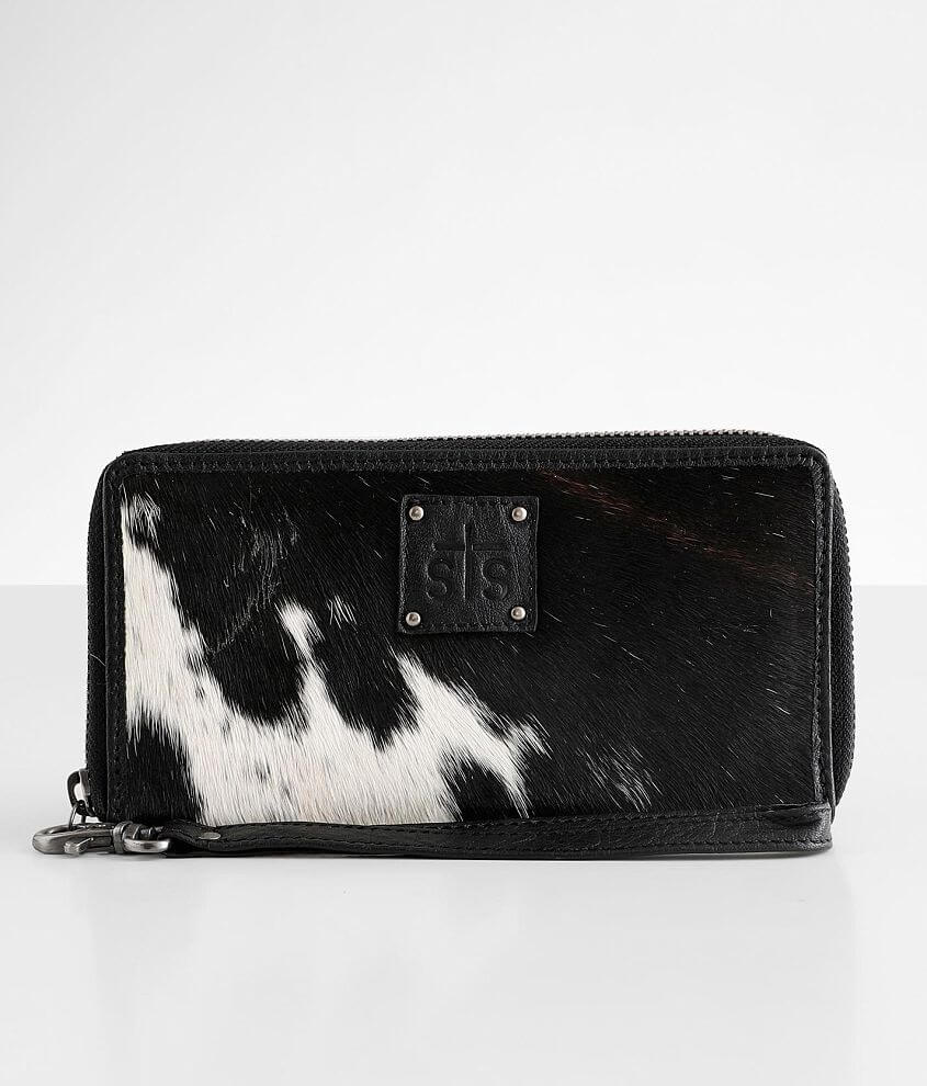 STS Rosa Leather Wristlet Wallet front view