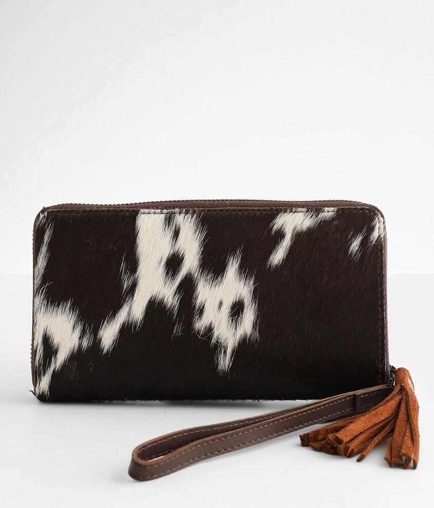 STS Sheridan Leather Wristlet Wallet front view