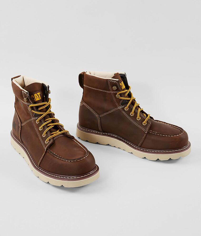 CATERPILLAR® Tradesman Leather Boot front view