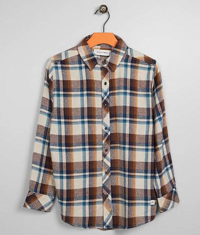 Boys - Departwest Marco Flannel Shirt