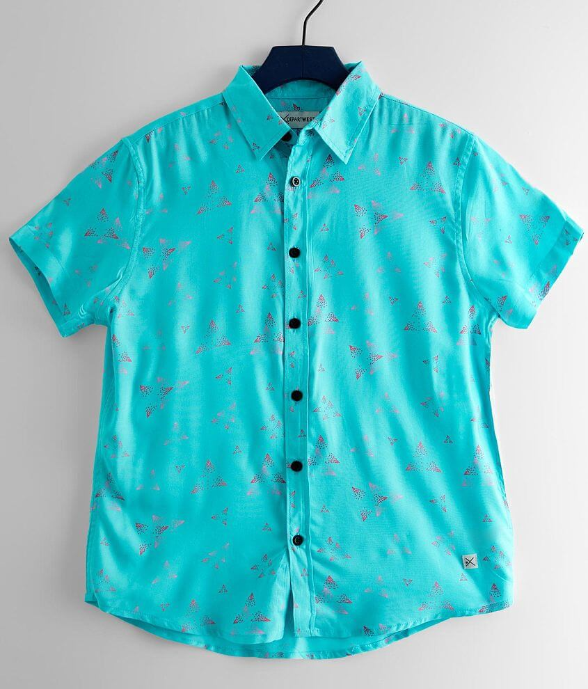Boys - Departwest Triangle Shirt front view