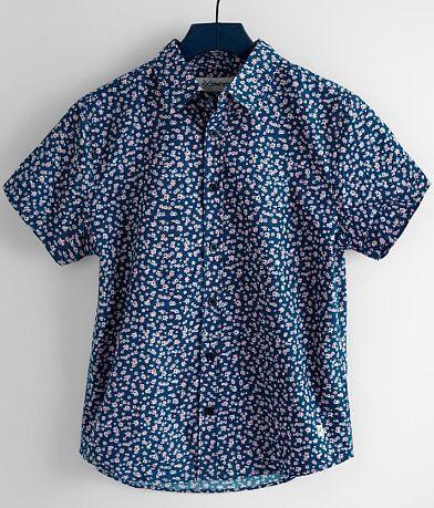 Boys - Departwest Geo Floral Shirt