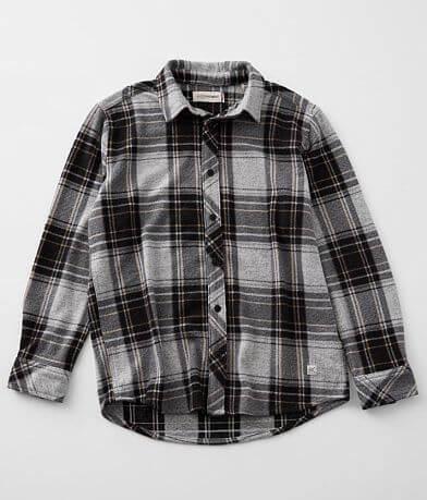 Boys - Departwest Flannel Stretch Shirt