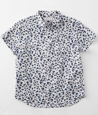 Boys - Departwest Woven Floral Shirt
